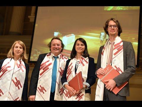 Graduation 2015 at Hertie School of Governance