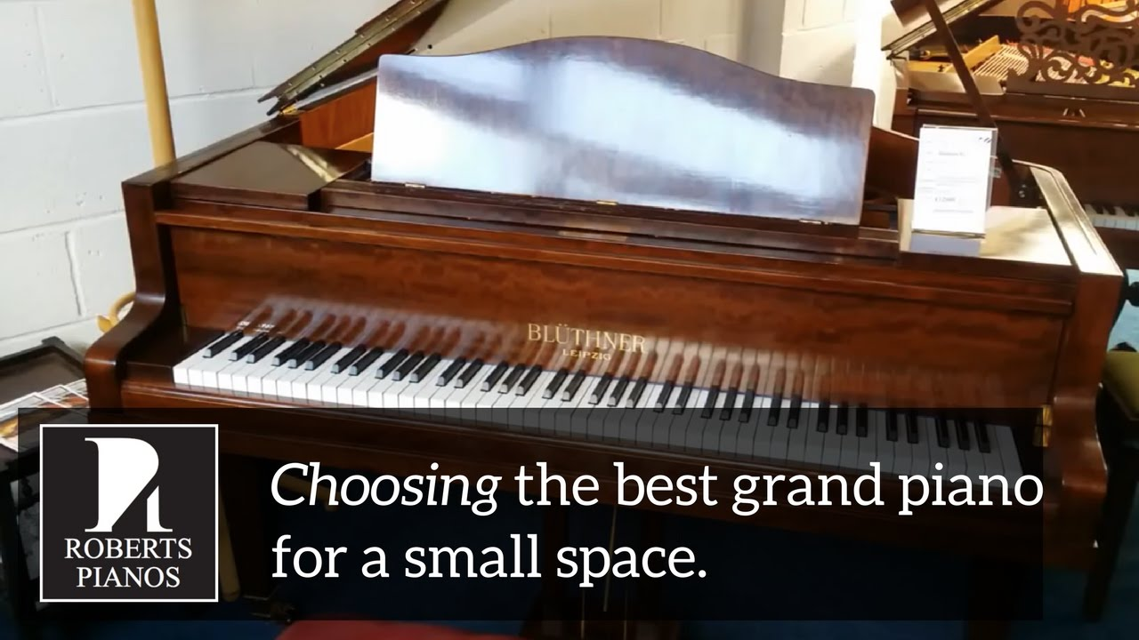 Choosing the best grand piano for a small space youtube for Piano for small space