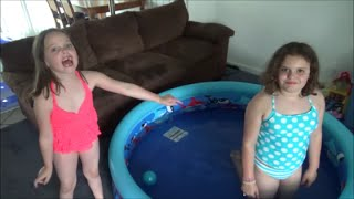 2 Swimming Pools In Our House!