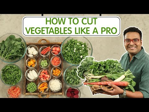 How To Cut Vegetables Like A Pro   Healthy Winter Vegetables   Carrot   Radish   Spinach   Beetroot