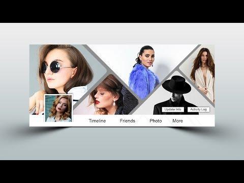 Collage Facebook Cover Design - Photoshop Tutorial
