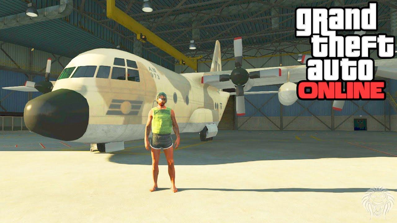 GTA Online: Titan Location! Where To Find The Titan C-130 ...