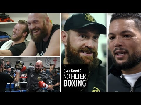What it's like to train with Tyson Fury for the day | Sparring, fitness, pads | No Filter Boxing