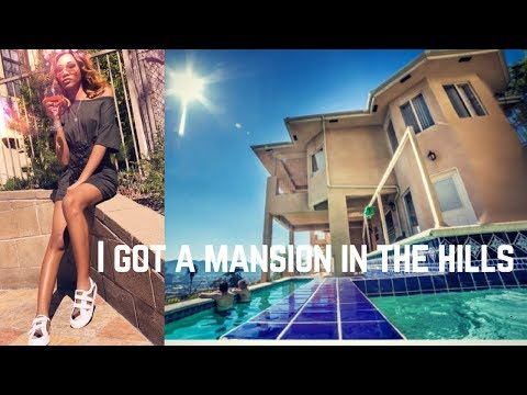 WE GOT A MANSION IN THE HILLS ! #LALIVING