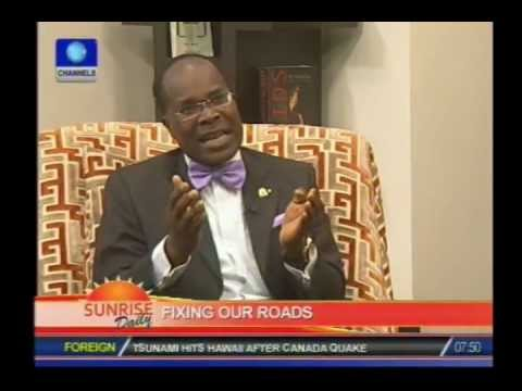 Nigeria has not had any road maintenance in 30 years-Engineer PT 1