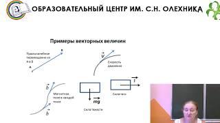 """Урок по геометрии 9 класса """"Векторы. Понятия вектора. Длина вектора."""""""