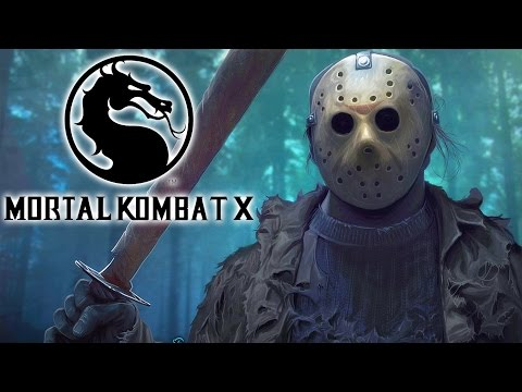 Mortal Kombat X / CaRtOoNz vs H2O Delirious (Jason DLC!) (Brutality!)