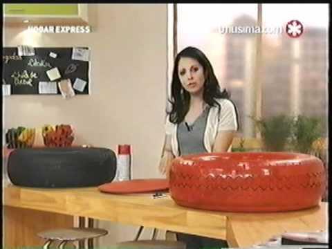Liliana Cota Hogar Express Organizador Con Neumatico Youtube