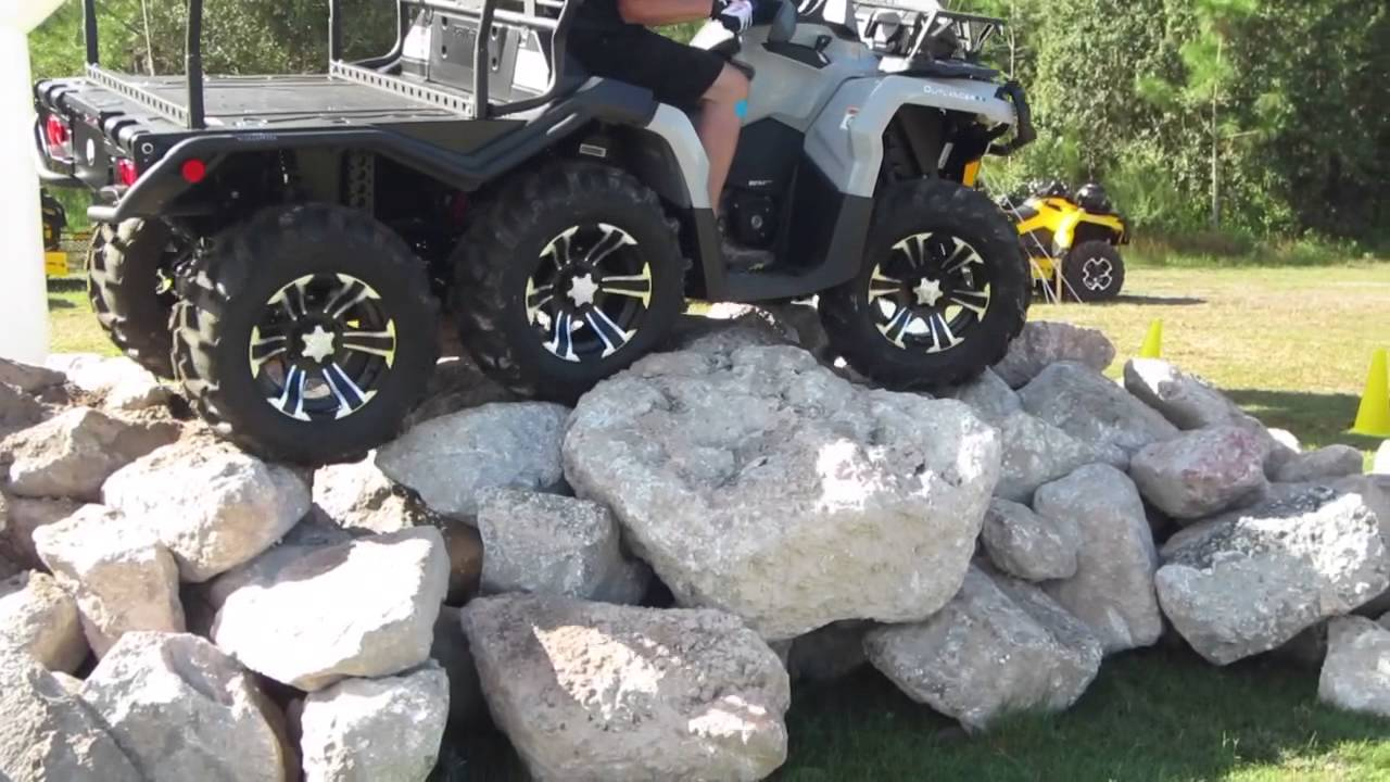 2015 Can Am Outlander 1000 6x6 With Martin Motor Sports