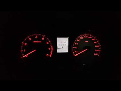 [The Secret] SUBARU XV Start Up Dashboard Lights, How-to Set Mode-1 & Mode-2.