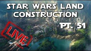 Star Wars Land Construction Updates | The Knothole Gang Pt. 51 | 11-10-16