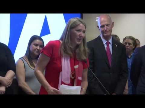 Governor Rick Scott Visits UA