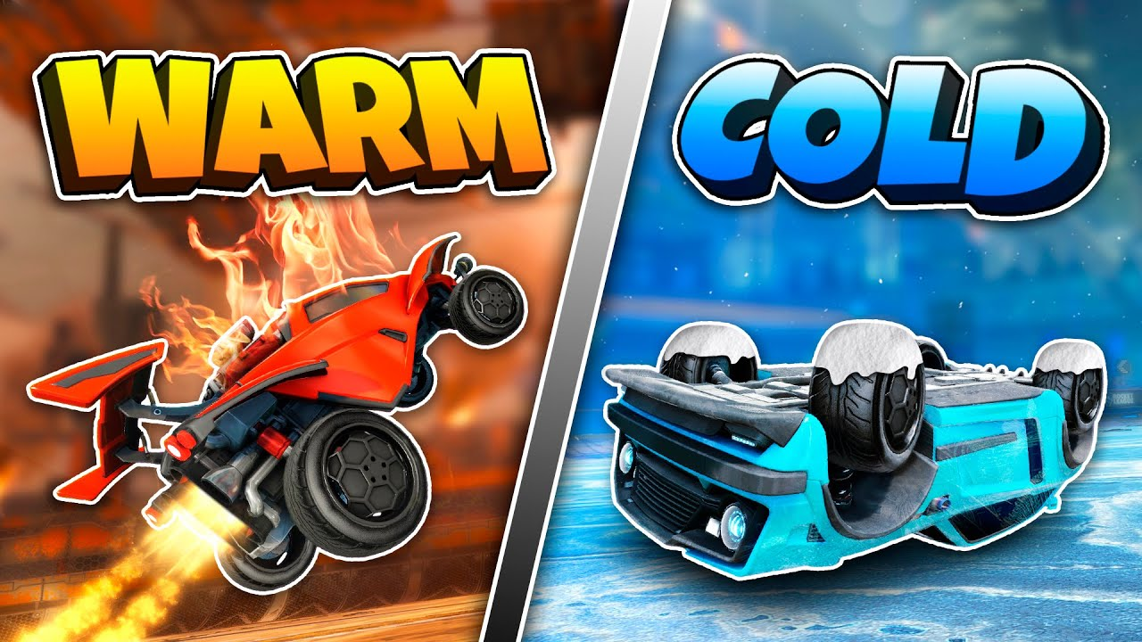 Warmed Up Vs Cold Rocket League Players... should you even warm up?