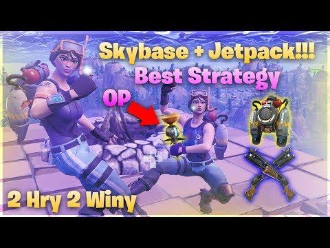 *CLOSE ENCOUNTERS* Vyhráli Jsme Nový Mód Díky SKY BASE - Fortnite Battle Royale