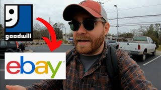 Thrifting For Items To Sell on Ebay!