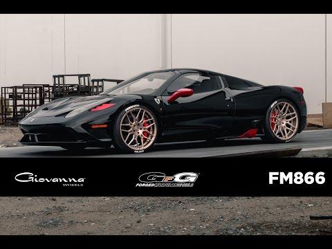"""Ferrari 458 """"Aperta"""" on Custom GFG Forged FM866 Wheels"""