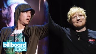 Eminem & Ed Sheeran Tease 'River' Video, Dropping Valentine's Day | Billboard News