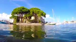 Port Grimaud by rubber boat