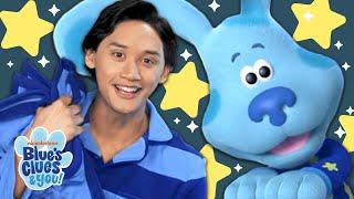 Josh & Blue Skidoo Into the Night Sky! | Blue's Clues & You!