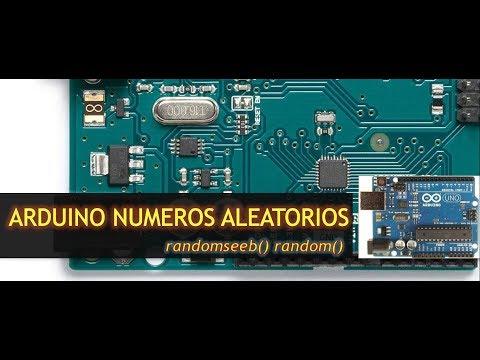 Arduino Números Aleatorios  Randomseed()  Random() Sesión 4