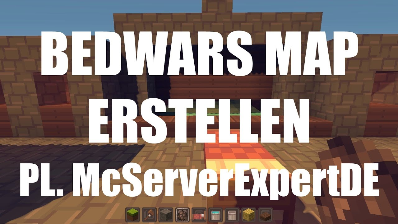 Plugin Bedwars Map Erstellen Tutorial McServerExpertDE German - Minecraft server map erstellen