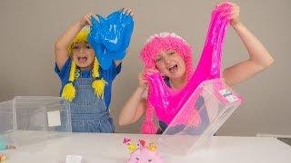 Surprise Toys in Slime Fun S3:E104