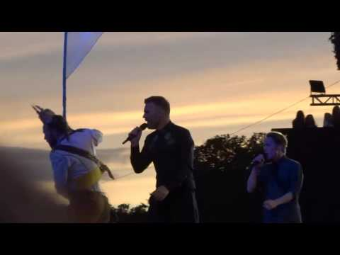 Take That - Said it All - 9-7-16 Hyde Park HD FRONT ROW