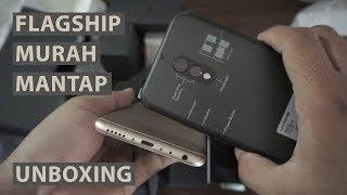 Hp Flagship Murah Spek Dewa Dual Kamera - Unboxing Hp Android Desain Mewah ( Umidigi S )