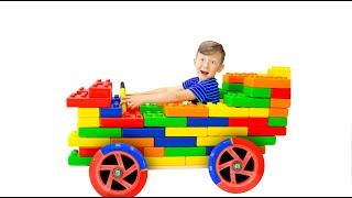 Senya and his Colorful Cars. Best Series
