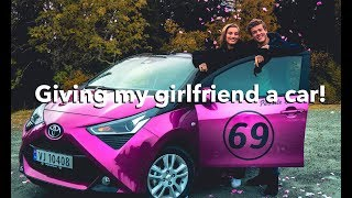 Giving my girlfriend a car! | Bonusvlog