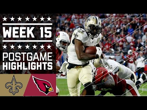 Saints vs. Cardinals | NFL Week 15 Game Highlights