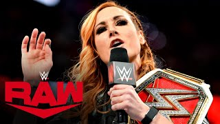 Becky Lynch vows to smash Shayna Baszler's face: Raw, March 9, 2020