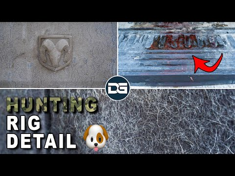 Deep Cleaning A HUNTER'S Dirty Truck | Insane Pet Hair Removal And Satisfying Car Detailing!