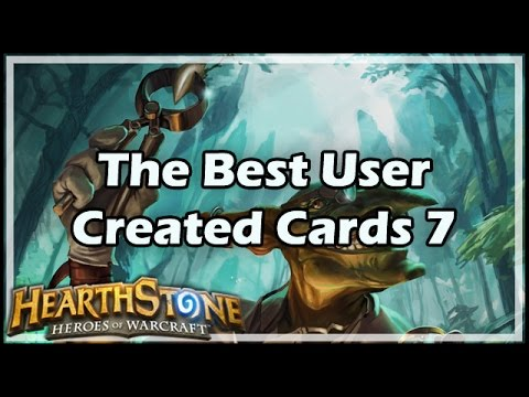 [Hearthstone] The Best User Created Cards 7