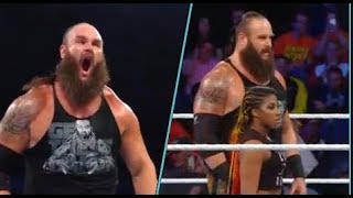 Braun strowman and ember moon vs Bobby lashley and Mickie james : WWE MMC 11/13/2018