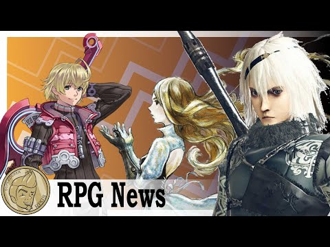 NieR Replicant, Xenoblade Definitive Edition And Bravely Default! The JRPG Weekly Update!