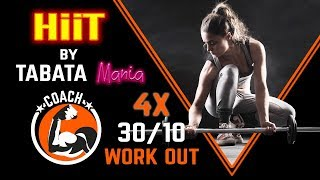 TABATA 30/10 - Special 4X with 1 min REST - TABATAMANIA