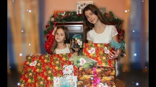 ПОДАРКИ от ДЕДА МОРОЗА Асе и Тае ! OPENING UP OUR CHRISTMAS GIFTS FINALLY !