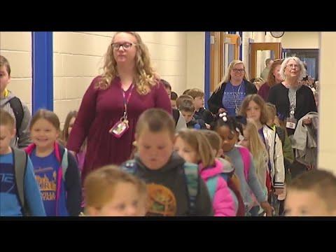 Spottsville Elementary School opens for students