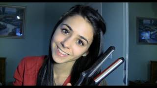 How To: Waterfall Braid Ft. Flat Iron Experts Review