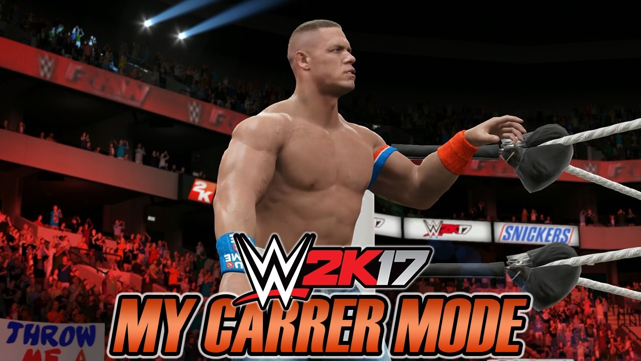 WWE 2K17 - My Career Mode - #72 [OUTRA DISPUTA NO MIC] - YouTube