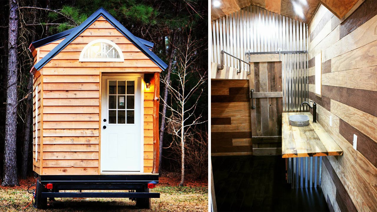 Tour The Free Range Tiny House in South Carolina YouTube