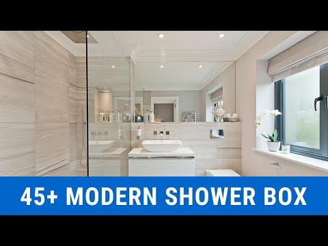 45+ Modern Shower Box Designs 2020 - Inspiring Shower Cabin Ideas for Bathroom
