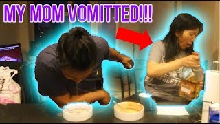 Download Video ASIAN MOM VS SON SPICY NOODLE CHALLENGE MP3 3GP MP4