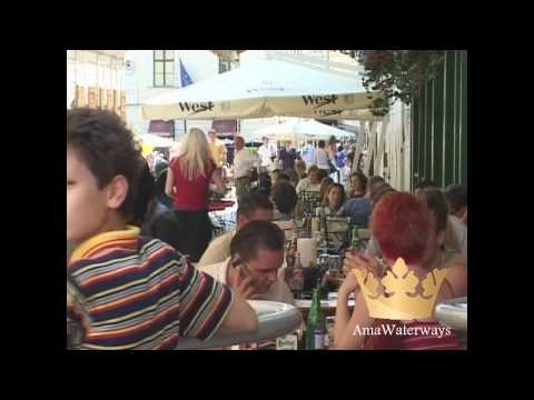 Pt. 4 of 4, AmaWaterways River Cruise from Vienna to Budapest on Danube that began in Amsterdam