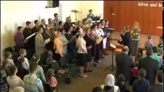 Meine Seele ist stille in Gott.   Der Chor der Bibelgemeinde Pforzheim singt
