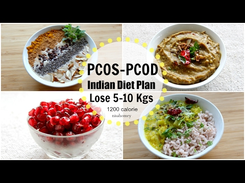 PCOS/PCOD Diet – Lose Weight Fast 10 Kgs In 10 Days – Indian Veg Meal/Diet Plan For Weight Loss #4