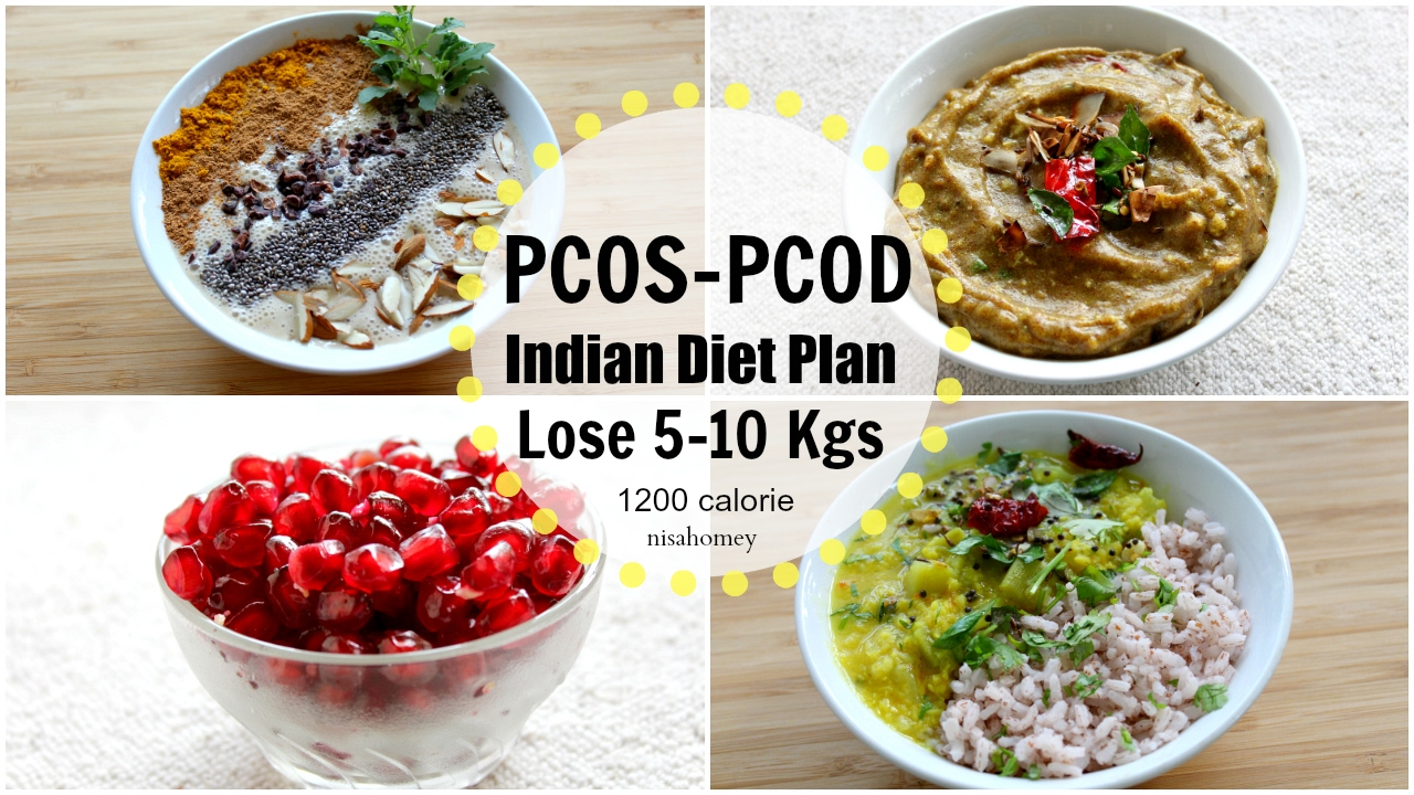 PCOS/PCOD Diet - Lose Weight Fast 10 Kgs In 10 Days - Indian Veg Meal/Diet  Plan For Weight Loss #4
