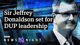 Can Jeffrey Donaldson fix Northern Ireland's Brexit-related problems? - BBC Newsnight