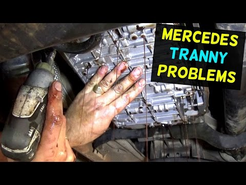 HOW TO FIX MERCEDES TRANSMISSION THAT DOES NOT SHIFT LIMP MODE